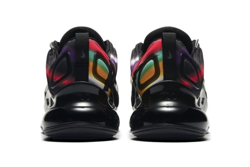 Nike Air Max 720 全新配色「Black Multi」發佈