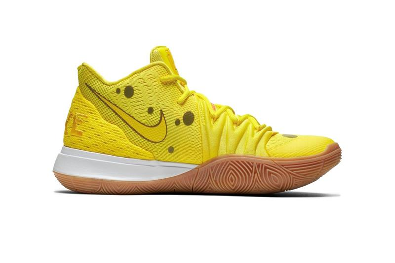 Nike Kyrie 5 聯乘「Spongebob Squarepants」及「Patrick Star」官方圖輯發佈