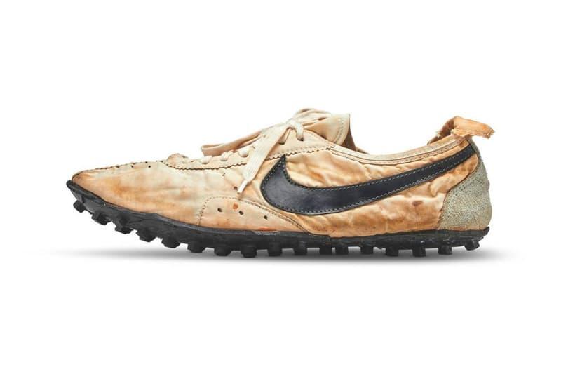 Nike 極限量鞋款「Moon Shoe」以破紀錄天價正式於 Sotheby 售出