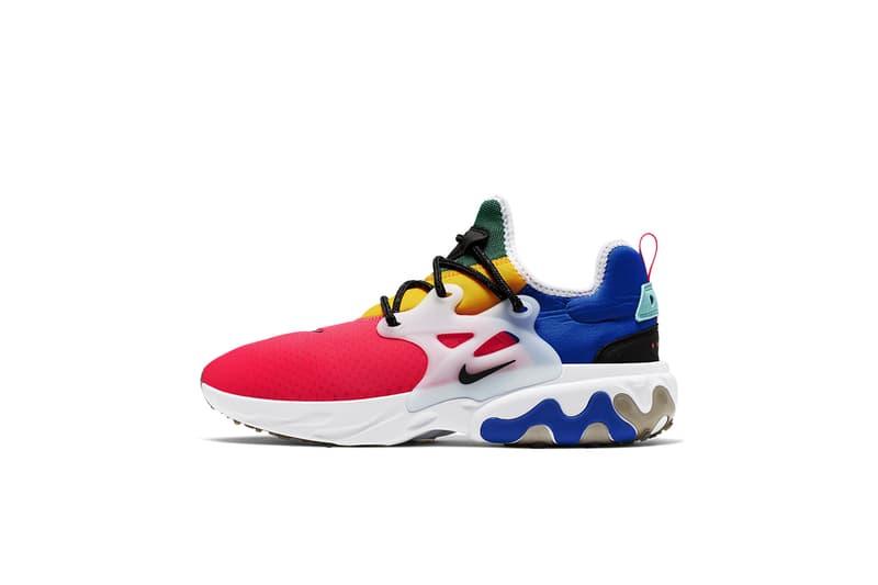 四色飛行棋-Nike 全新配色 React Element 55 及 React Presto 登場
