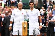 Novak Djokovic 擊退 Roger Federer 於 2019 年溫布頓網球賽締造二連霸
