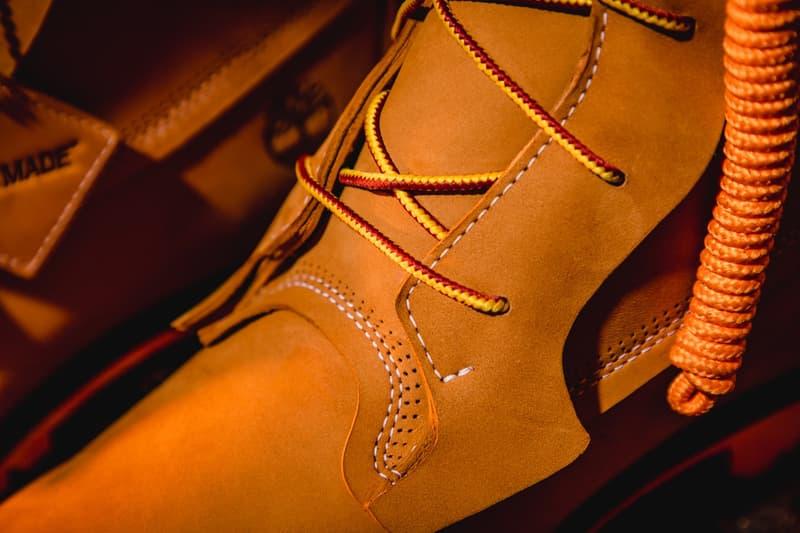 近賞 READYMADE x Timberland 全新 6-Inch Boot 聯乘靴款