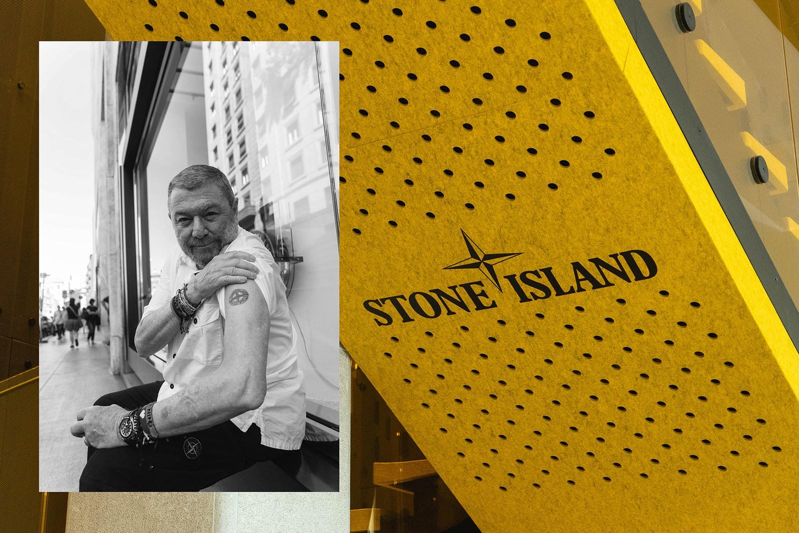 未完待續... HYPEBEAST 專訪 Stone Island 行政總裁 Carlo Rivetti