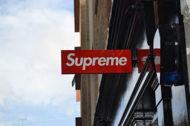 Supreme 倫敦專門店「失竊招牌」疑似出現於 eBay 拍賣!?
