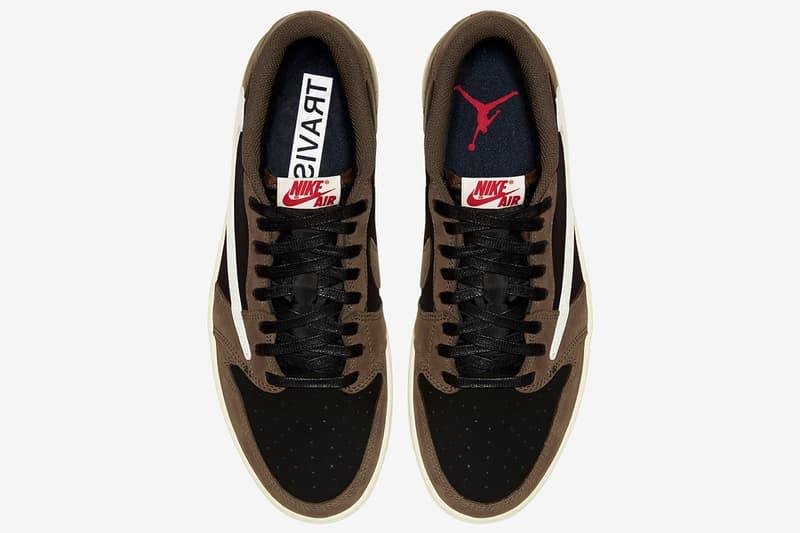 Travis Scott x Air Jordan 1 Low 官方圖片正式發佈!