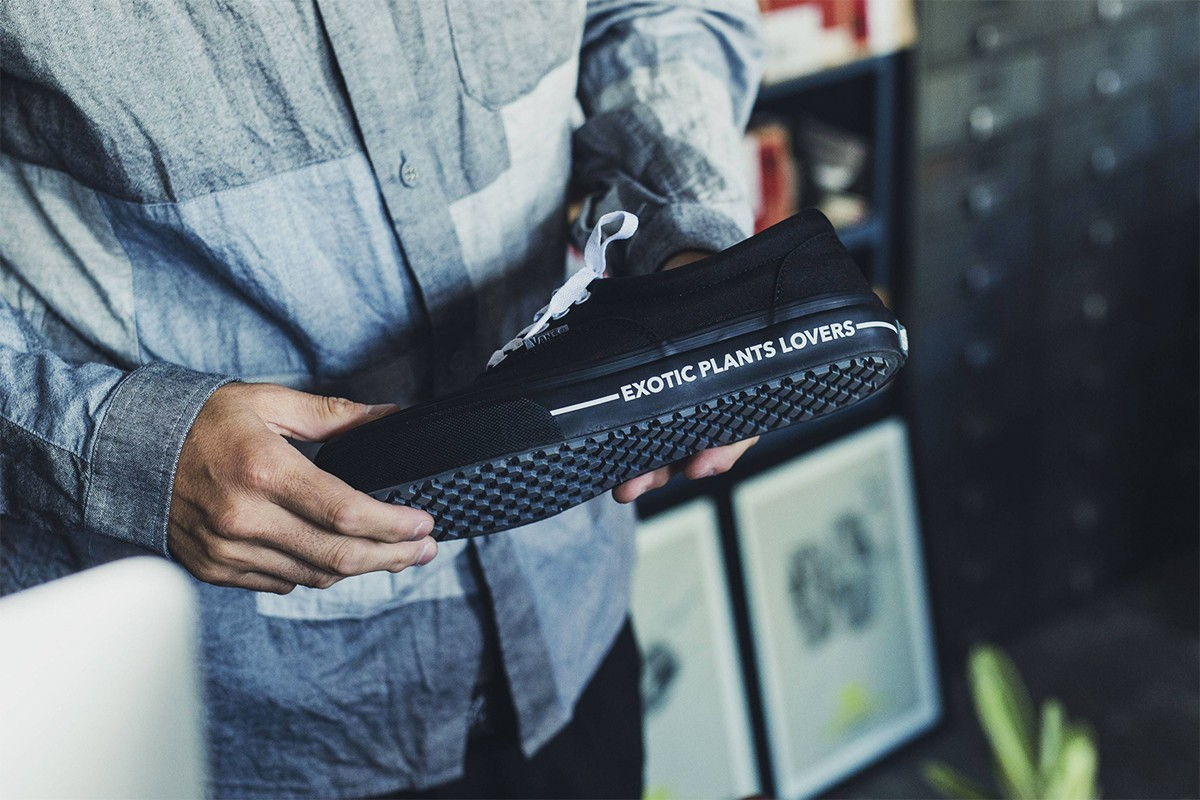 BOTANIZE x Vans Japan 「Exotic Plant Lovers」聯名鞋作