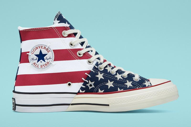 Converse 推出解構版「星條旗」Chuck 70 All Star 鞋款