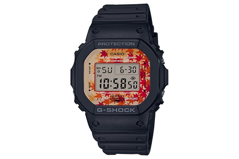隨處賞楓-G-Shock 推出「Kyo Momiji Color」紅葉主題系列錶款