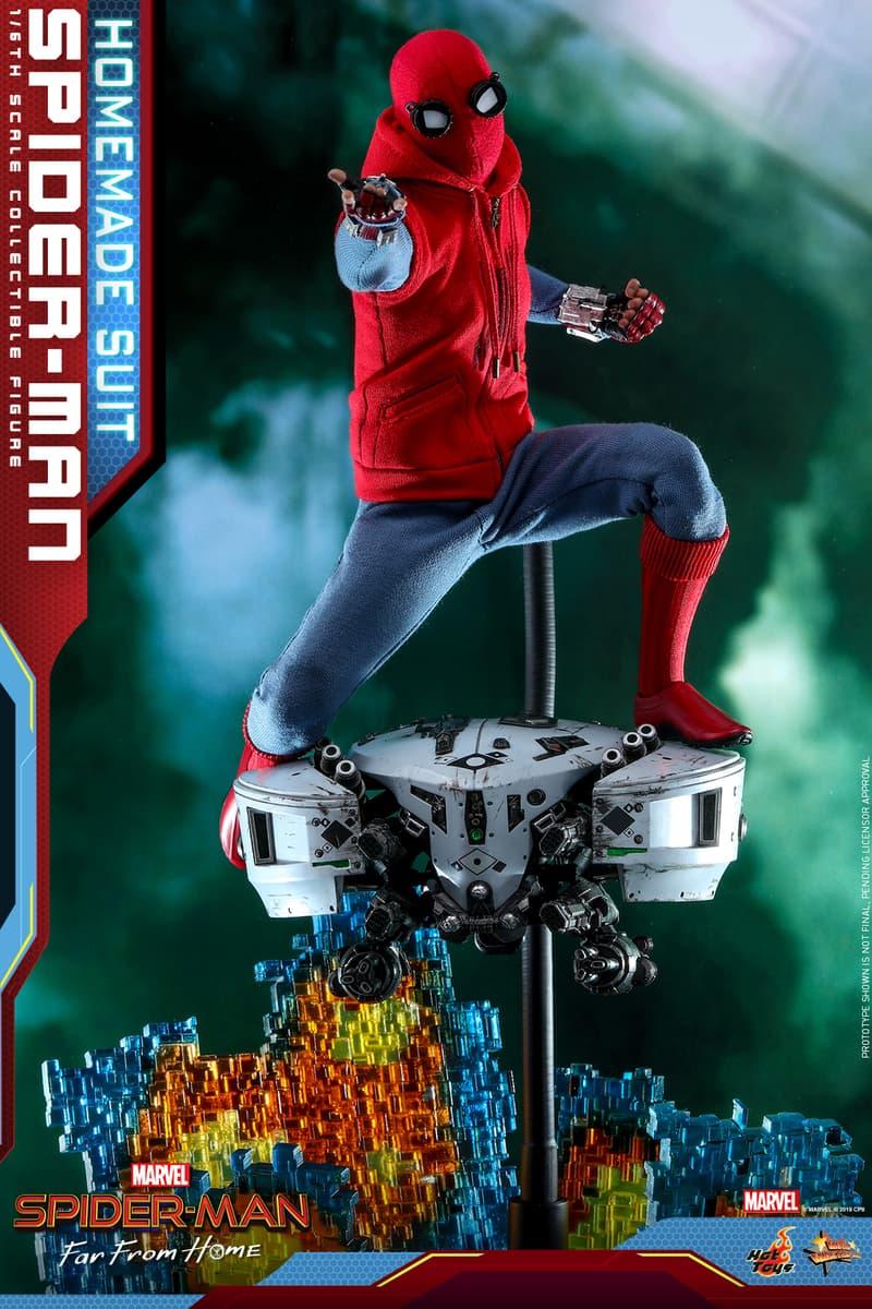 Hot Toys 推出《Spider-Man: Far From Home》中 Spider-Man 自製戰衣 1:6 珍藏人偶