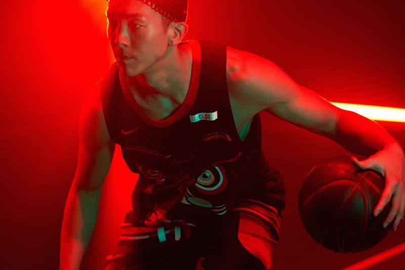 學貫中西-Nike x CLOT 聯乘「LIONDANCE」籃球套裝系列