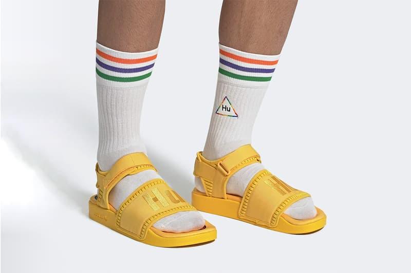 Pharrell Williams x adidas Originals 重塑經典 Adilette 2.0 涼鞋