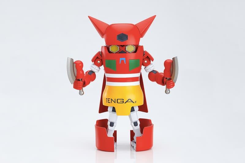 TENGA 推出《Mazinger Z》、《Getter Robo》機械人變身玩偶