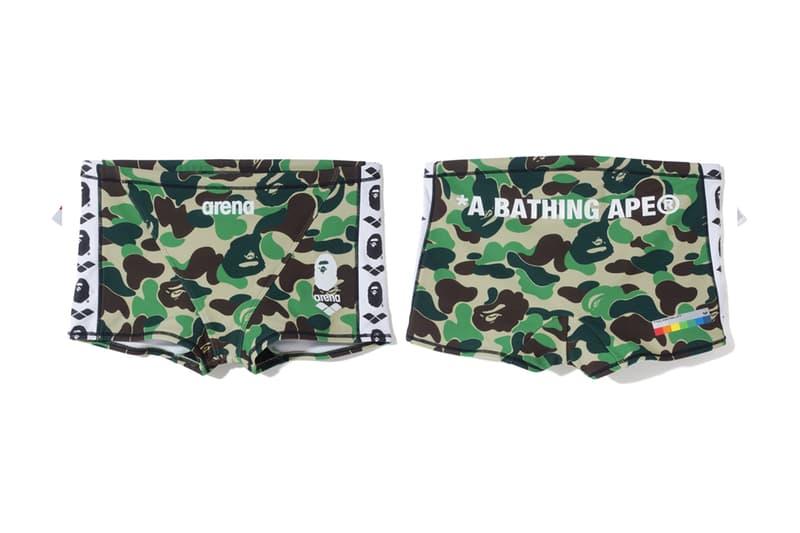 A BATHING APE® x arena 專業競泳聯名系列