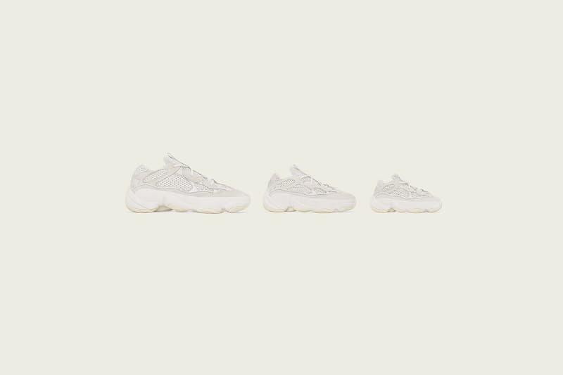 久違的伍佰-adidas Originals YEEZY 500「Bone White」配色發售日確認