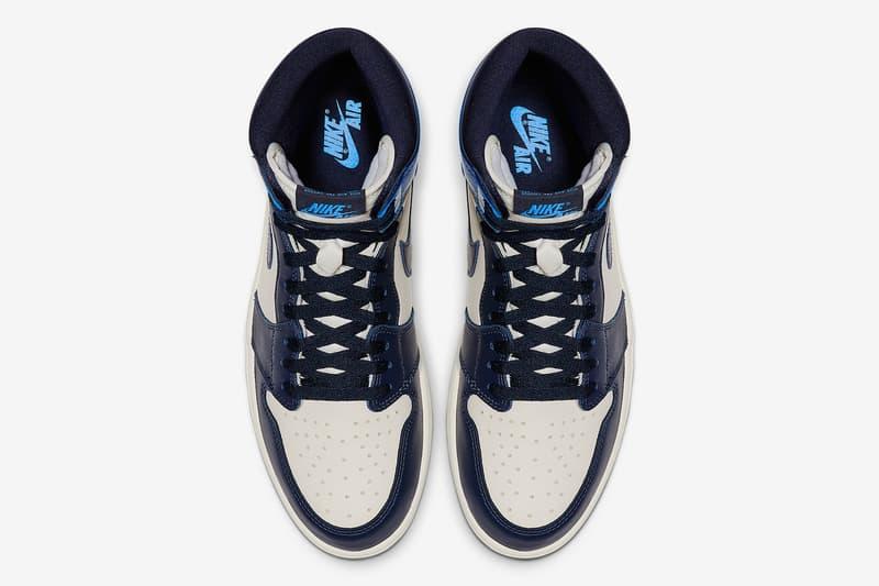 Air Jordan 1 High OG「UNC」鞋款官方圖片釋出