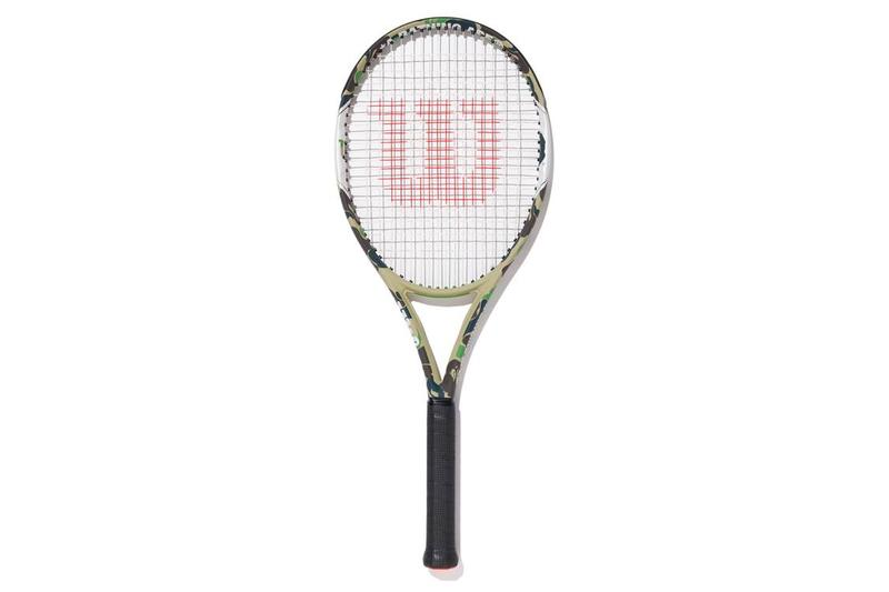 A BATHING APE® x Wilson 網球聯乘系列正式發佈