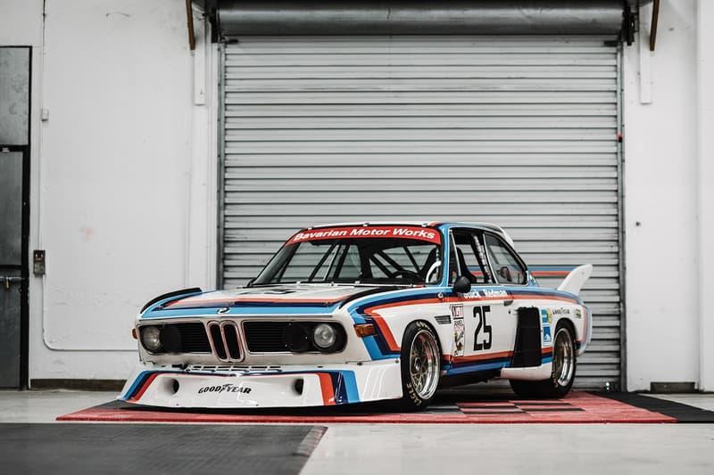 極罕有 1974 年 BMW 3.5 CSL IMSA 即將展開拍賣