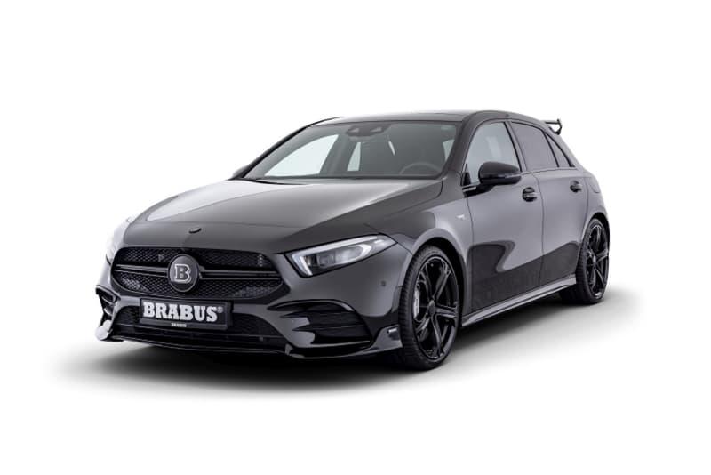 暗黑鋼砲 − Brabus 打造 Mercedes-AMG A35 4MATIC 全新改裝車型