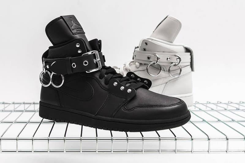 強強聯手!COMME des GARÇONS x Air Jordan 1 聯乘鞋款正式販售