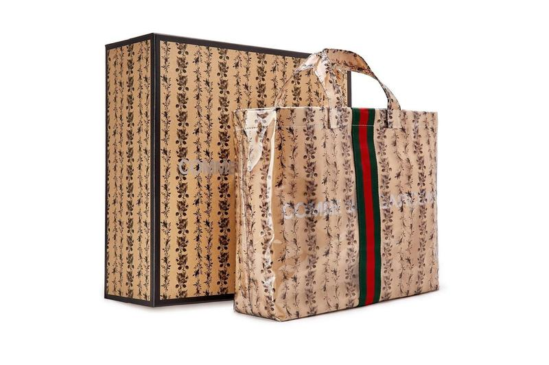 COMME des GARÇONS x Gucci 全新聯乘 Tote Bag 即將上架