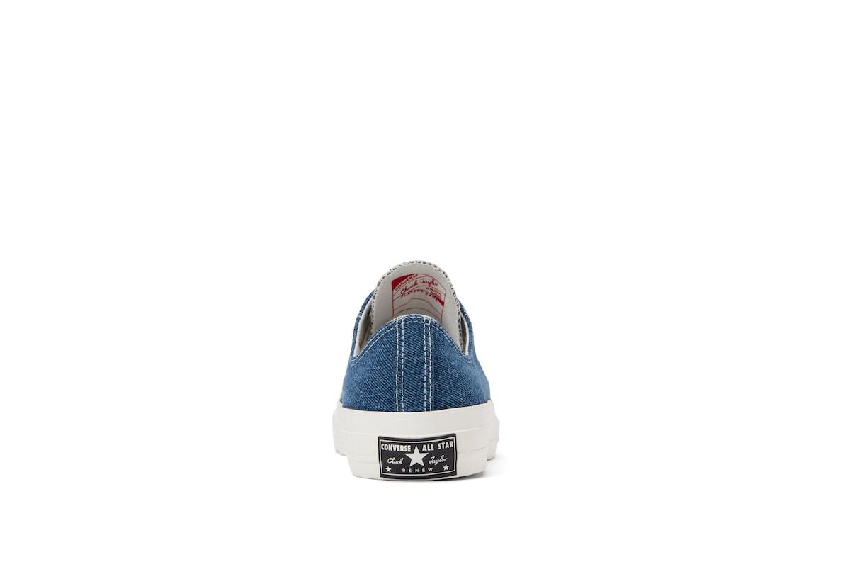 聯手英國老牌古着店-Converse 正式發表 Renew Denim 鞋款系列