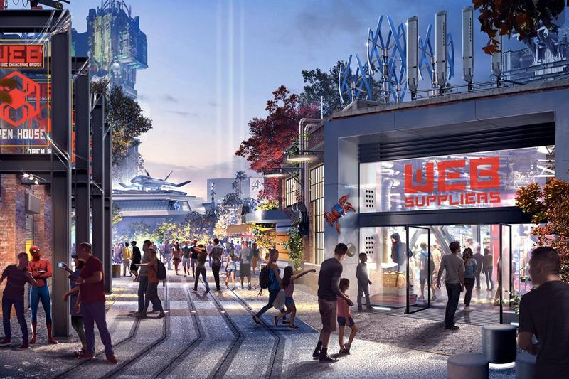 Disney 最新主題樂園「Marvel Avengers Campus」完整細節、開放日期公開