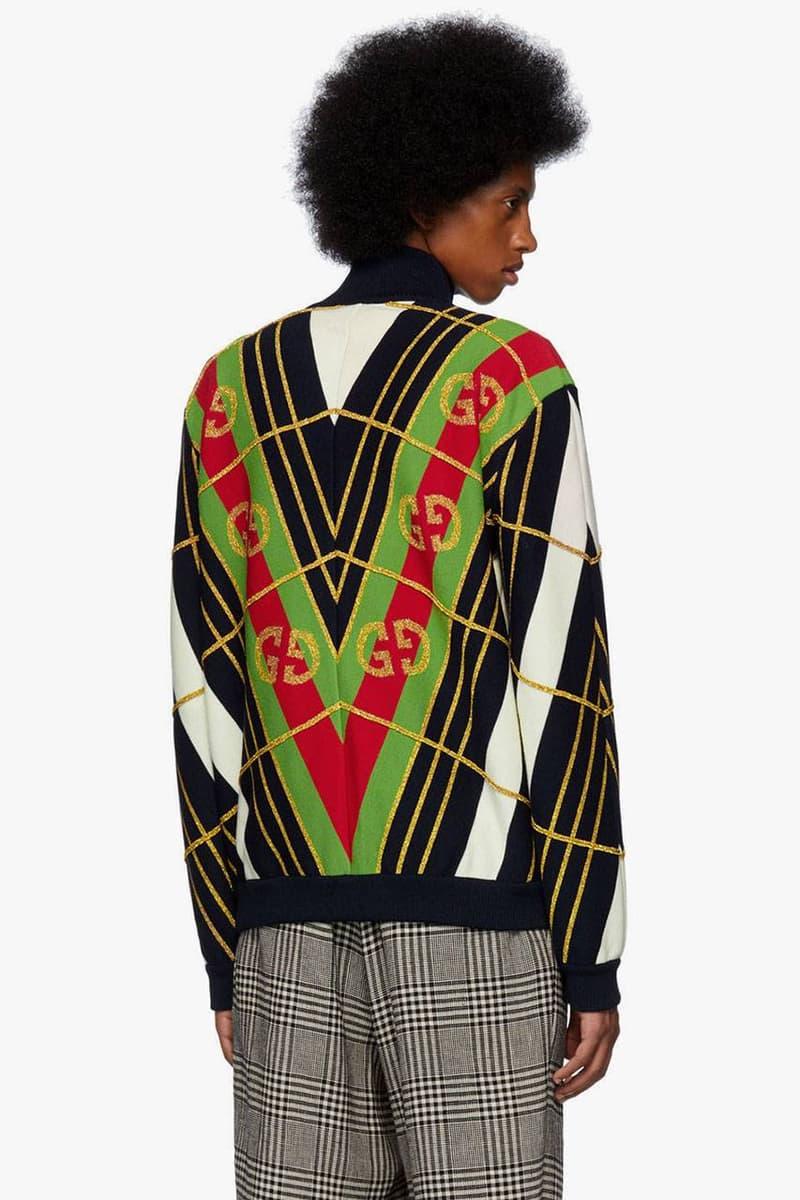 Gucci 推出 2 款七零年代復古感拉鍊外套