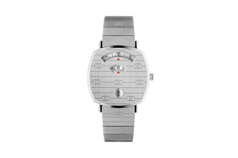 三窗顯示-Gucci 推出全新「Grip」腕錶系列