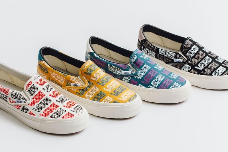 Vans Vault 全新「Logo Checkboard」OG Slip-On 59 LX 鞋款