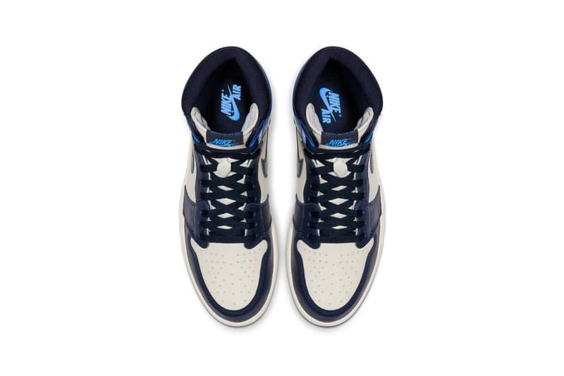 Nike 官方正式發佈 Air Jordan 1「Obsidian」配色鞋款