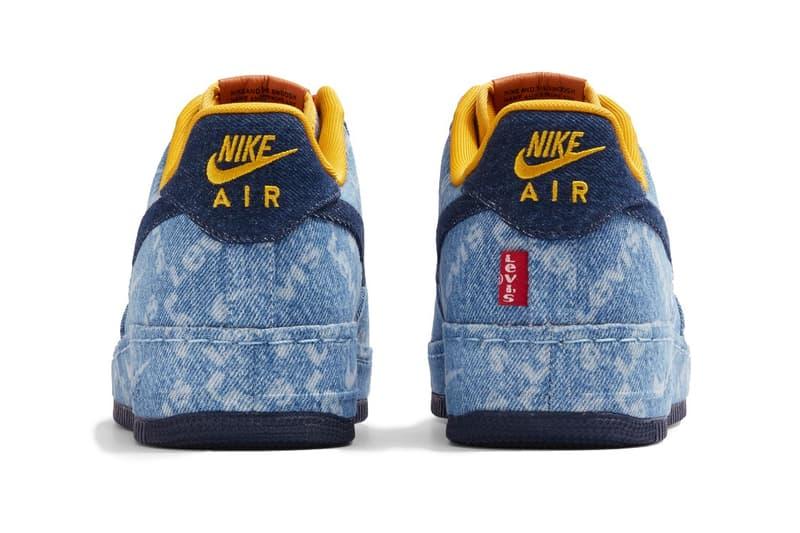Nike By Levi's 丹寧布 Air Force 1 球鞋聯乘企劃登場