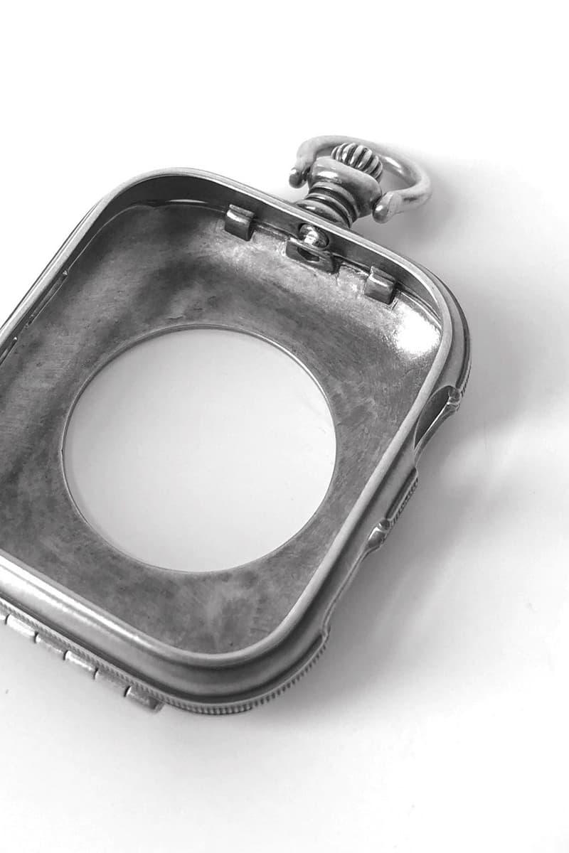 PORTER CLASSIC 推出復古純銀製 Apple Watch Case