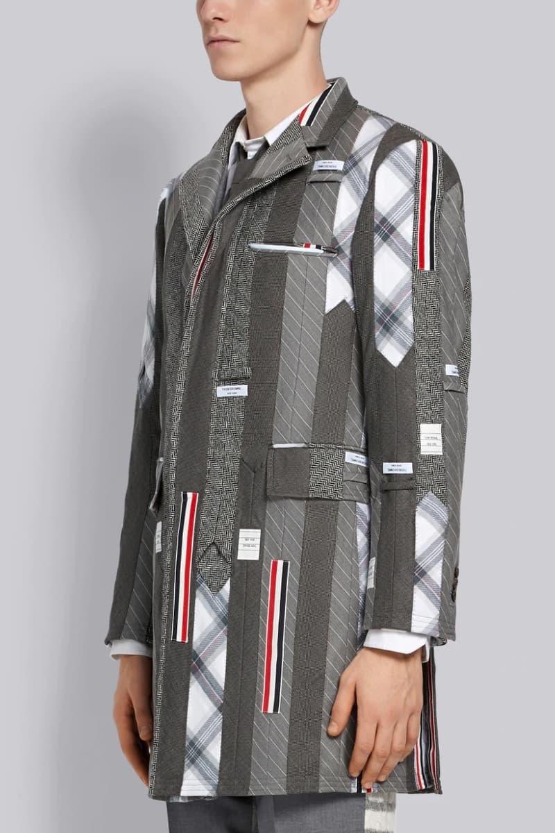 剪裁美學-Thom Browne 以領帶縫製 $12,000 美金西裝外套