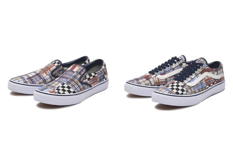 拼布印花-Vans「Japan Fabrics Collection」全新設計亮相