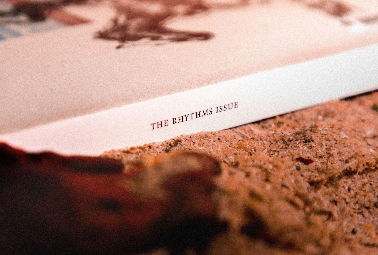 找回「生而為人」的節奏- HYPEBEAST Magazine 第 26 期:The Rhythm Issue