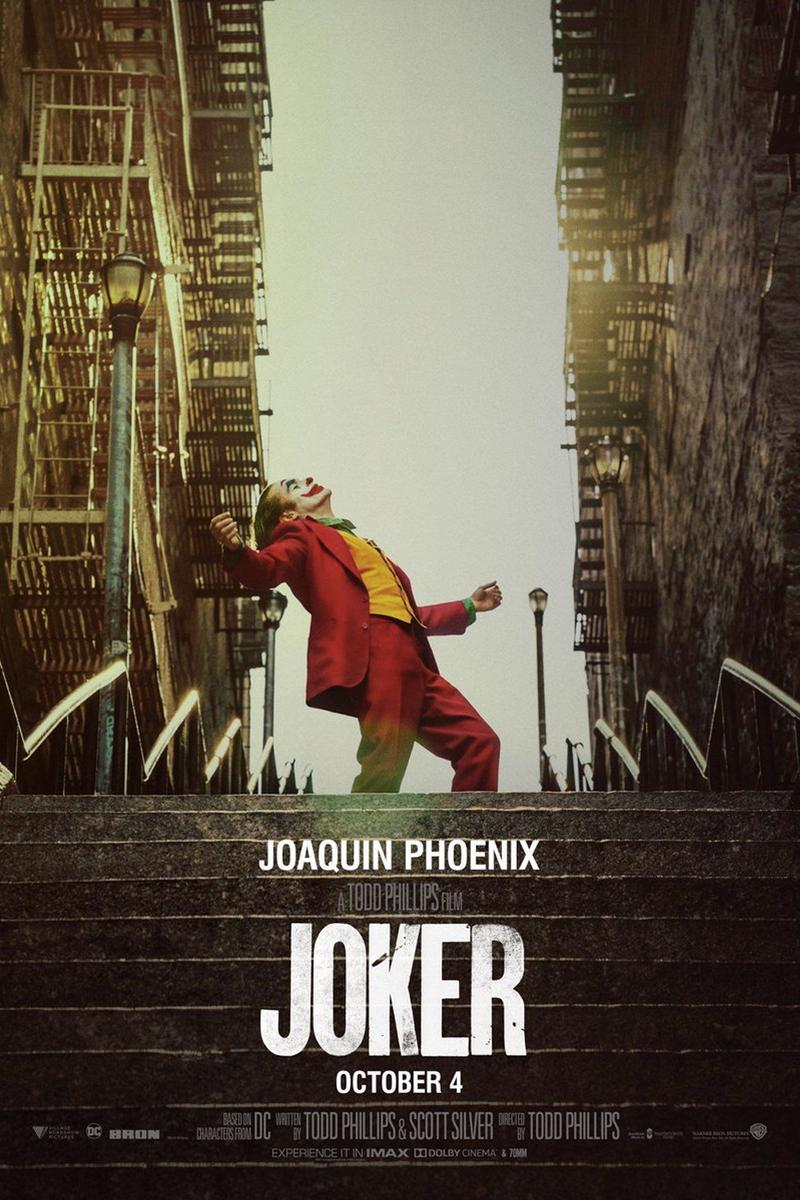 Joaquin Phoenix 主演 DC 獨立電影《Joker》最新海報發佈