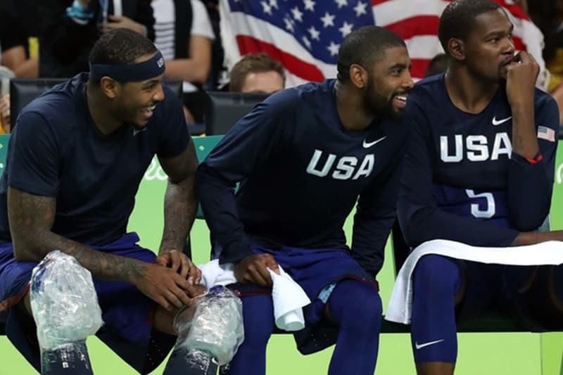 消息稱 Kevin Durant 及 Kyrie Irving 正聯手說服 Nets 簽下 Carmelo Anthony