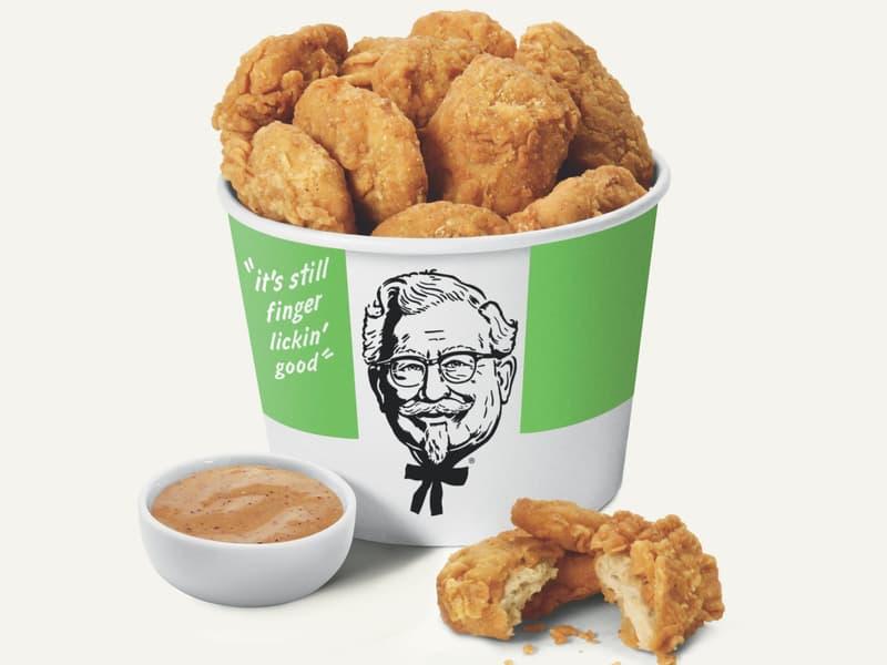 KFC 與人造肉公司 Beyond Meat 合作推出首個「素食炸雞」餐點