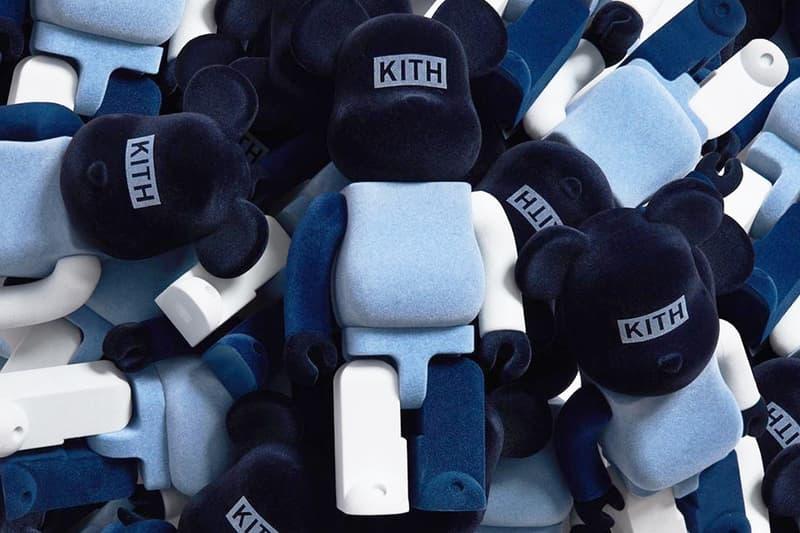 KITH x Medicom Toy 聯名 BE@RBRICK 系列第二彈