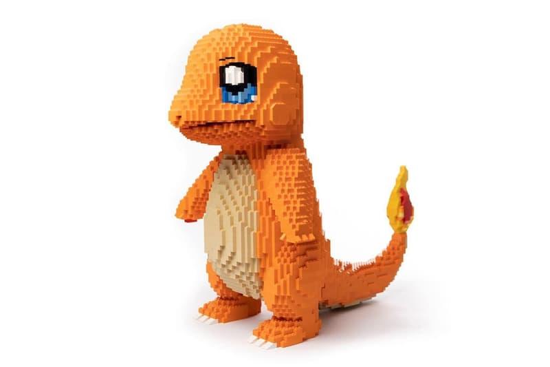 墨爾本 LEGOLAND® 職員以 2,800 塊積木打造人氣 Pokémon 小火龍
