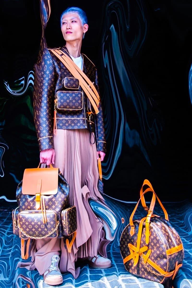 Virgil Abloh 攜手日本藝術家小林健太打造 Louis Vuitton 2019 秋冬系列宣傳大片