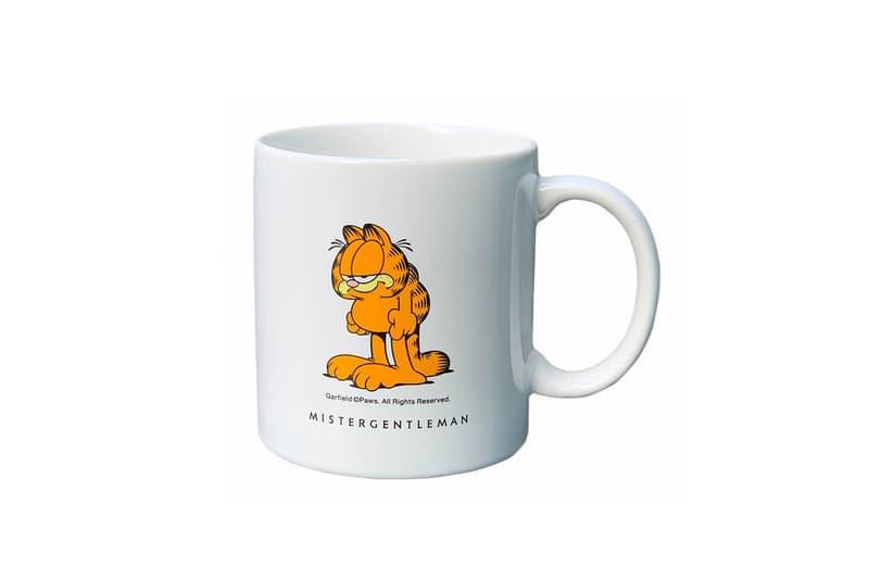 garfield品牌_MISTERGENTLEMAN x《Garfield》聯乘計劃完整公開 | HYPEBEAST