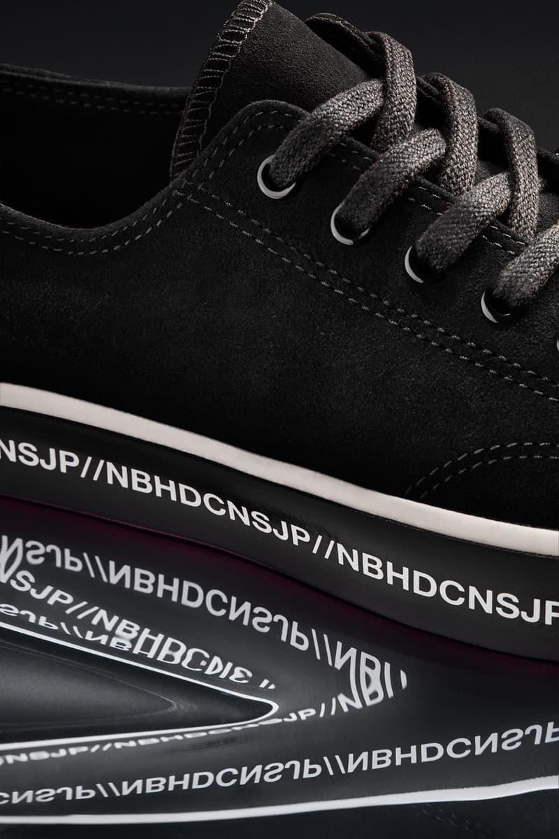 NEIGHBORHOOD 攜手 Converse 推出全新聯乘系列