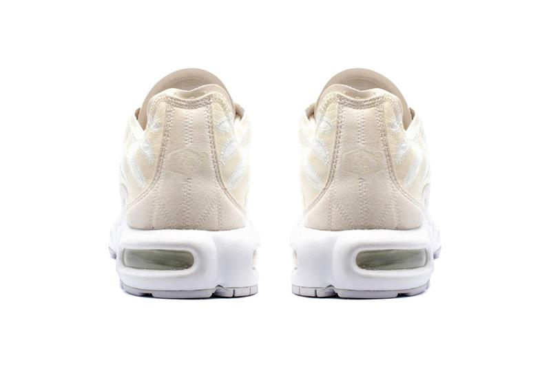 Nike Air Max Plus Deconstructed 全新配色「Beige/White」發佈