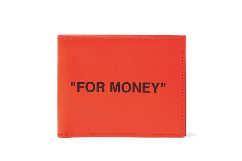 Off-White™ 推出全新皮革銀紙錢包
