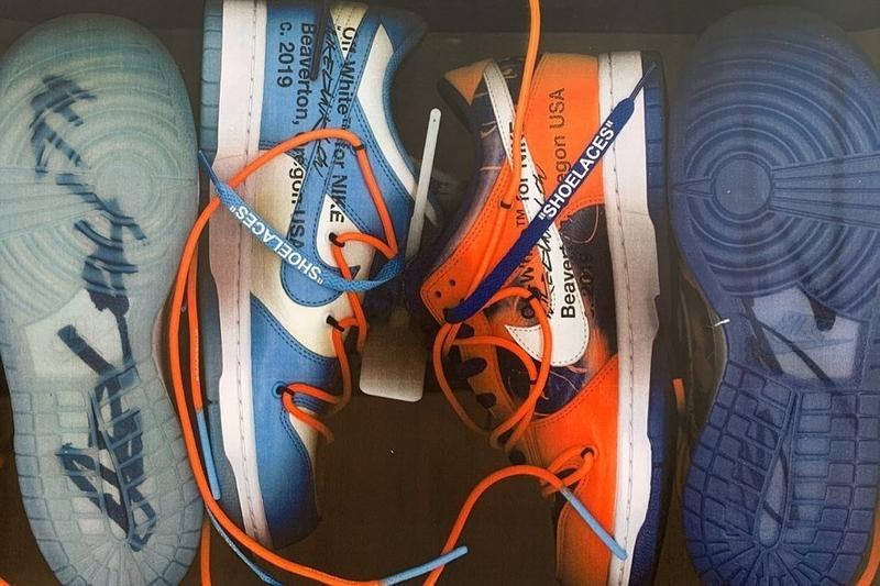 大物降臨!Off-White™ x Futura x Nike SB Dunk Low 最新聯乘配色實鞋曝光