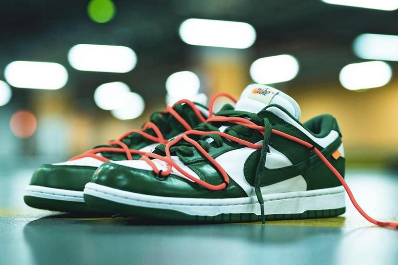Off-White™ x Nike Dunk Low 最新配色「University Red」搶先曝光