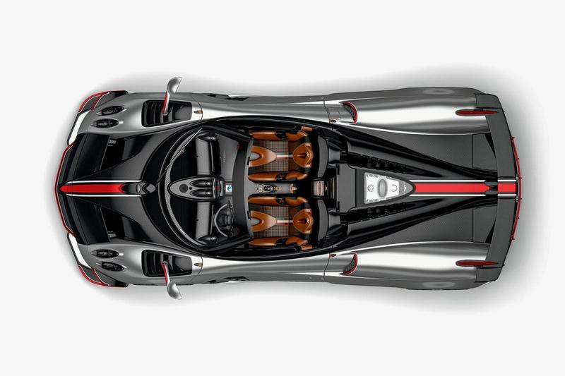 Pagani 推出要價 $350 萬美元全新 Huayra Roadster BC