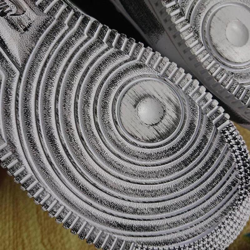PEACEMINUSONE x Nike Air Force 1 更多細節諜照釋出