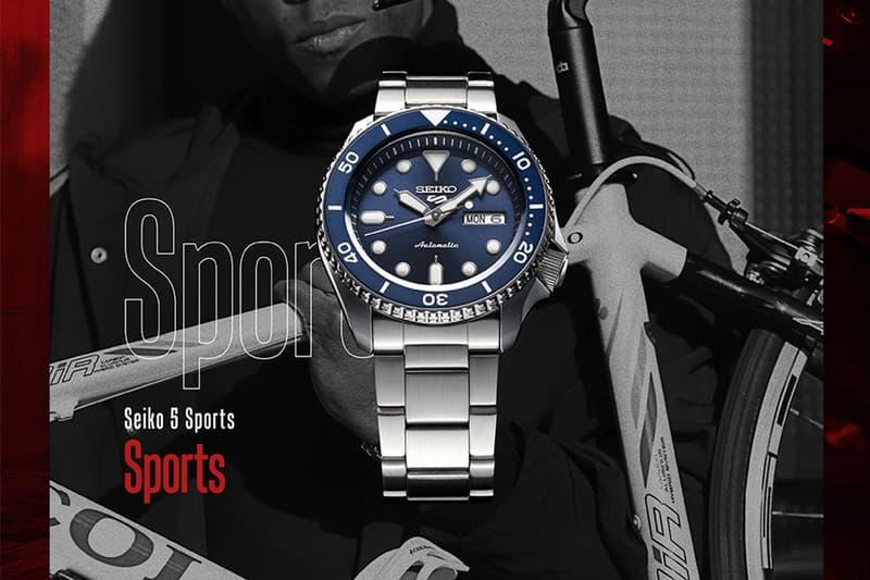 台灣選貨店鋪 plain-me 上架人氣 Seiko 5 運動系列腕錶